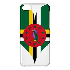 Heart Love Flag Antilles Island Apple Iphone 5c Hardshell Case by Celenk