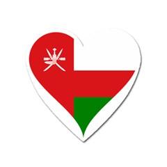 Heart Love Affection Oman Heart Magnet by Celenk
