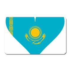 Heart Love Flag Sun Sky Blue Magnet (rectangular) by Celenk
