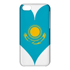 Heart Love Flag Sun Sky Blue Apple Iphone 5c Hardshell Case by Celenk