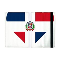 Heart Love Dominican Republic Apple Ipad Mini Flip Case by Celenk