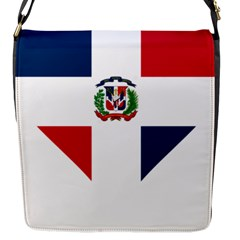 Heart Love Dominican Republic Flap Messenger Bag (s) by Celenk