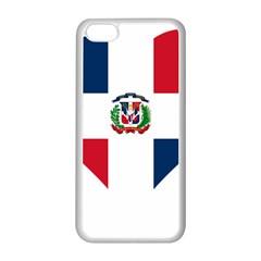 Heart Love Dominican Republic Apple Iphone 5c Seamless Case (white) by Celenk