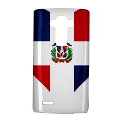 Heart Love Dominican Republic Lg G4 Hardshell Case by Celenk