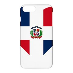 Heart Love Dominican Republic Apple Iphone 8 Plus Hardshell Case by Celenk