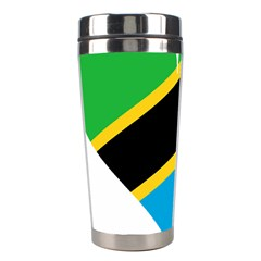 Heart Love Tanzania East Africa Stainless Steel Travel Tumblers by Celenk