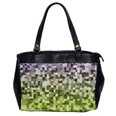 Irregular Rectangle Square Mosaic Office Handbags by Celenk