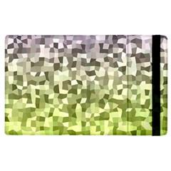 Irregular Rectangle Square Mosaic Apple Ipad 2 Flip Case by Celenk