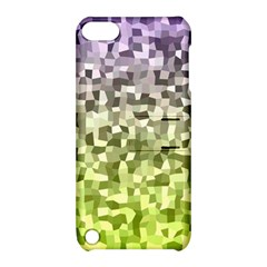 Irregular Rectangle Square Mosaic Apple Ipod Touch 5 Hardshell Case With Stand by Celenk
