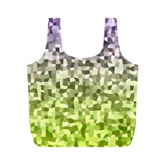 Irregular Rectangle Square Mosaic Full Print Recycle Bags (m)  by Celenk