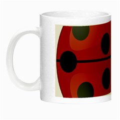 Ladybug Insects Colors Alegre Night Luminous Mugs by Celenk