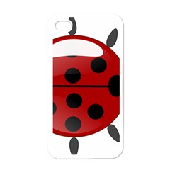 Ladybug Insects Colors Alegre Apple Iphone 4 Case (white) by Celenk