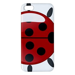 Ladybug Insects Colors Alegre Apple Iphone 5 Premium Hardshell Case by Celenk