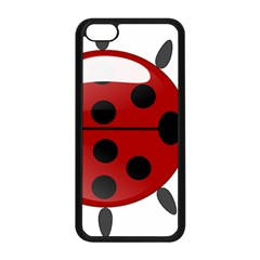 Ladybug Insects Colors Alegre Apple Iphone 5c Seamless Case (black) by Celenk