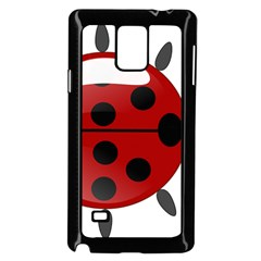 Ladybug Insects Colors Alegre Samsung Galaxy Note 4 Case (black) by Celenk