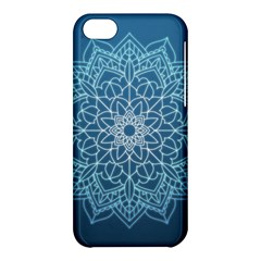 Mandala Floral Ornament Pattern Apple Iphone 5c Hardshell Case by Celenk