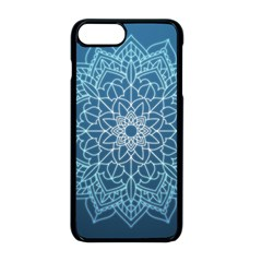 Mandala Floral Ornament Pattern Apple Iphone 8 Plus Seamless Case (black) by Celenk