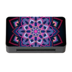 Mandala Circular Pattern Memory Card Reader With Cf by Celenk