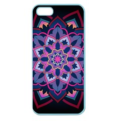 Mandala Circular Pattern Apple Seamless Iphone 5 Case (color) by Celenk