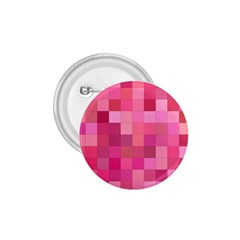 Pink Square Background Color Mosaic 1 75  Buttons by Celenk