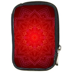 Mandala Ornament Floral Pattern Compact Camera Cases by Celenk