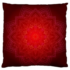 Mandala Ornament Floral Pattern Standard Flano Cushion Case (two Sides) by Celenk