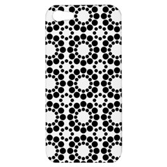 Pattern Seamless Monochrome Apple Iphone 5 Hardshell Case by Celenk
