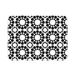 Pattern Seamless Monochrome Double Sided Flano Blanket (mini)  by Celenk