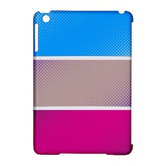 Pattern Template Banner Background Apple Ipad Mini Hardshell Case (compatible With Smart Cover) by Celenk