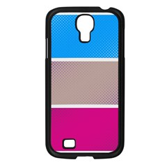Pattern Template Banner Background Samsung Galaxy S4 I9500/ I9505 Case (black) by Celenk