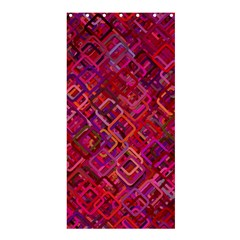 Pattern Background Square Modern Shower Curtain 36  X 72  (stall)  by Celenk