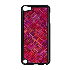 Pattern Background Square Modern Apple Ipod Touch 5 Case (black) by Celenk