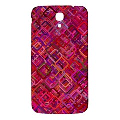 Pattern Background Square Modern Samsung Galaxy Mega I9200 Hardshell Back Case