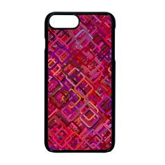 Pattern Background Square Modern Apple Iphone 8 Plus Seamless Case (black) by Celenk