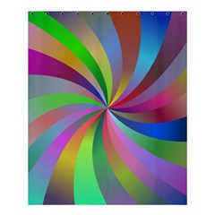 Spiral Background Design Swirl Shower Curtain 60  X 72  (medium)  by Celenk