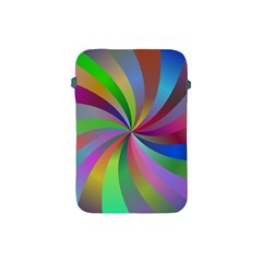 Spiral Background Design Swirl Apple Ipad Mini Protective Soft Cases by Celenk