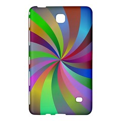 Spiral Background Design Swirl Samsung Galaxy Tab 4 (7 ) Hardshell Case  by Celenk