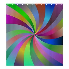 Spiral Background Design Swirl Shower Curtain 66  X 72  (large)  by Celenk
