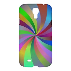 Spiral Background Design Swirl Samsung Galaxy S4 I9500/i9505 Hardshell Case by Celenk