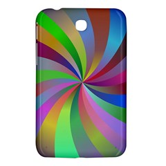 Spiral Background Design Swirl Samsung Galaxy Tab 3 (7 ) P3200 Hardshell Case  by Celenk