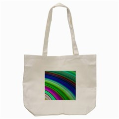 Motion Fractal Background Tote Bag (cream) by Celenk