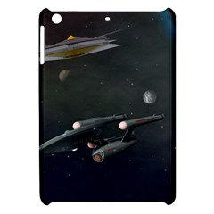 Space Travel Spaceship Space Apple Ipad Mini Hardshell Case by Celenk