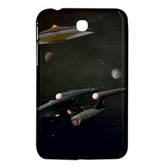 Space Travel Spaceship Space Samsung Galaxy Tab 3 (7 ) P3200 Hardshell Case  by Celenk