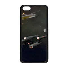 Space Travel Spaceship Space Apple Iphone 5c Seamless Case (black) by Celenk
