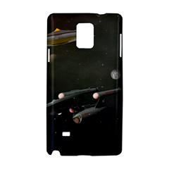 Space Travel Spaceship Space Samsung Galaxy Note 4 Hardshell Case by Celenk