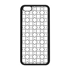 Square Line Stripe Pattern Apple Iphone 5c Seamless Case (black) by Celenk