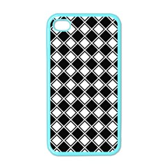 Square Diagonal Pattern Seamless Apple Iphone 4 Case (color) by Celenk