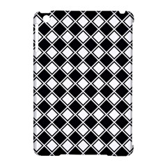 Square Diagonal Pattern Seamless Apple Ipad Mini Hardshell Case (compatible With Smart Cover) by Celenk