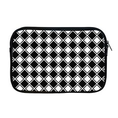 Square Diagonal Pattern Seamless Apple Macbook Pro 17  Zipper Case by Celenk
