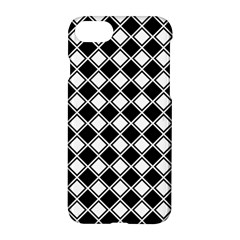Square Diagonal Pattern Seamless Apple Iphone 8 Hardshell Case by Celenk